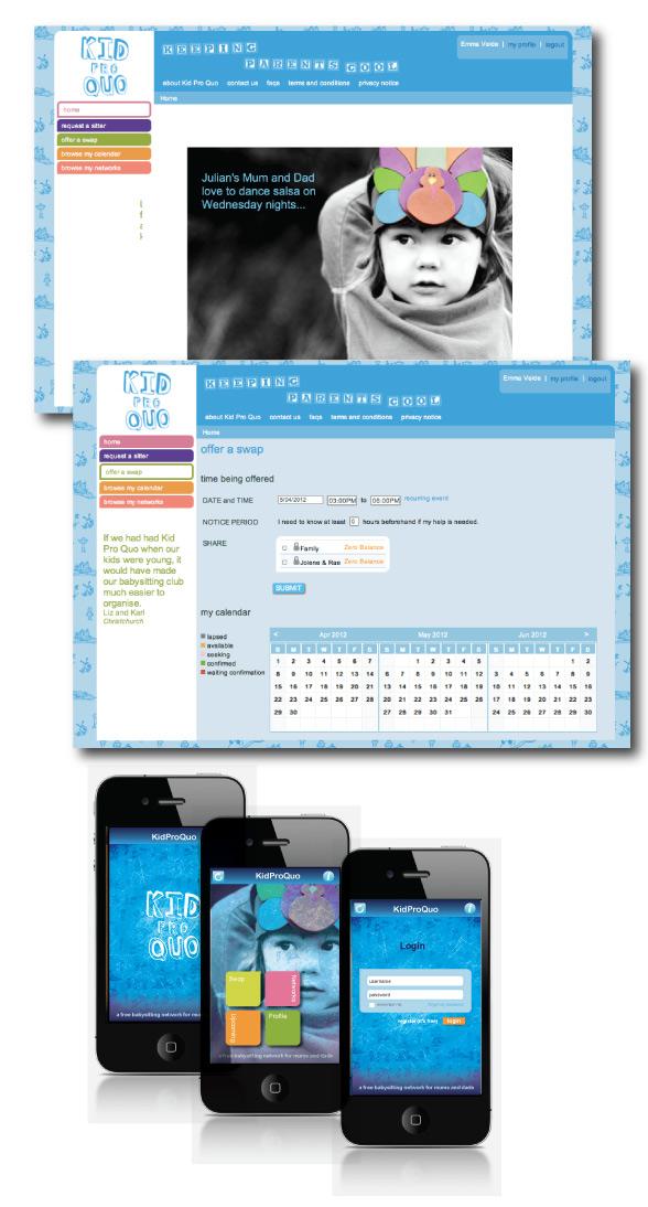 Kid Pro Quo iPhone App